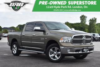 Used 2014 RAM 1500 SLT - Tonneau Cover, Trailer Tow Package, Bedliner for sale in London, ON