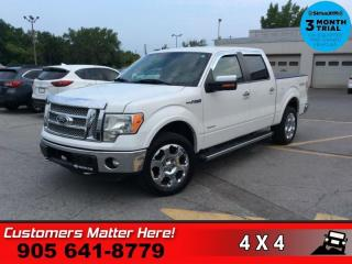 Used 2012 Ford F-150 Lariat  4X4 LEATH CAM BT HS CS REMOTE for sale in St. Catharines, ON