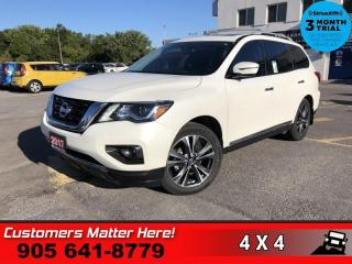 Used 2017 Nissan Pathfinder Platinum for sale in St. Catharines, ON