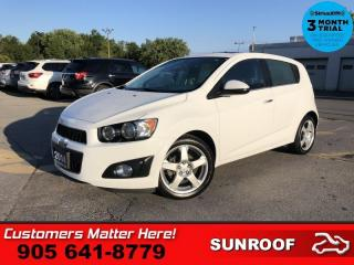 Used 2014 Chevrolet Sonic LT for sale in St. Catharines, ON