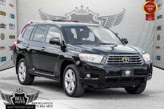 Used 2008 Toyota Highlander Limited, AWD, NAVI, BACK-UP CAM, SUNROOF, LEATHER for sale in Toronto, ON