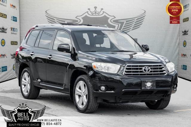 2008 Toyota Highlander Limited, AWD, NAVI, BACK-UP CAM, SUNROOF, LEATHER