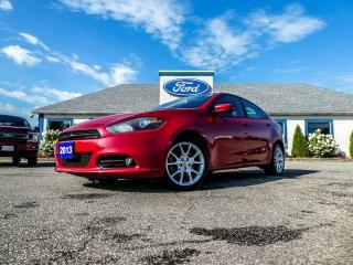 Used 2013 Dodge Dart Rallye- REMOTE START- BLUETOOTH- GOOD SHAPE for sale in Essex, ON
