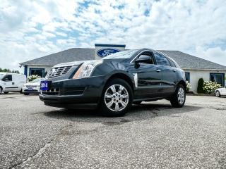 Used 2014 Cadillac SRX Luxury PACKAGE - AWD- LEATHER- ADAPTIVE CRUISE- SUNROOF for sale in Essex, ON