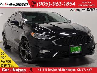 Used 2017 Ford Fusion V6 Sport| AWD| SUNROOF| NAVI| LEATHER| for sale in Burlington, ON