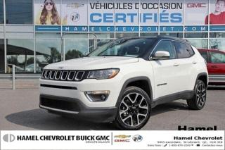 Used 2018 Jeep Compass LIMITED for sale in St-Léonard, QC