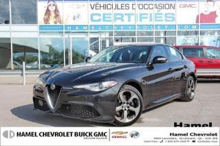 Used 2017 Alfa Romeo Giulia - for sale in St-Léonard, QC