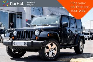Used 2010 Jeep Wrangler Unlimited Sahara|Power.Conve,Dual.Top.Pkgs|GPS|SiriusXM| for sale in Thornhill, ON