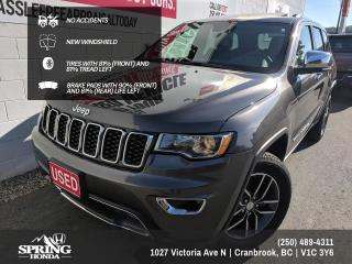Used 2018 Jeep Grand Cherokee Limited NO ACCIDENTS, WELL MAINTAINED, FACTORY WARRANTY, 2 SETS OF KEYS - $219 BI-WEEKLY - $0 DOWN for sale in Cranbrook, BC