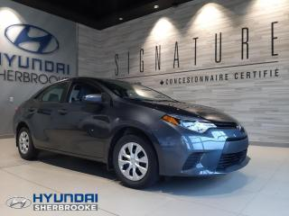Used 2016 Toyota Corolla CE+A/C+BLUETOOTH+CD/USB/AUXILIAIRE for sale in Sherbrooke, QC