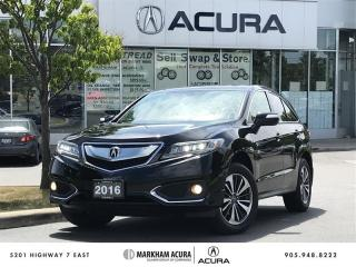 Used 2016 Acura RDX Elite at AWD, Vented Seats, Navigaton for sale in Markham, ON