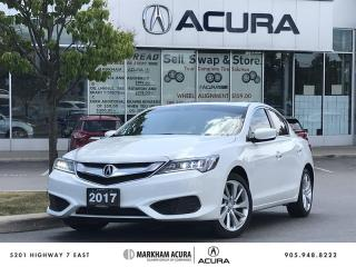 Used 2017 Acura ILX 8DCT Backup Cam, Moonroof, Low km for sale in Markham, ON