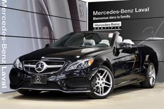 Used 2017 Mercedes-Benz E-Class E400 Cabriolet for sale in Laval, QC