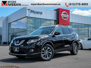Used 2015 Nissan Rogue SL  - Sunroof -  Leather Seats - $183 B/W for sale in Ottawa, ON