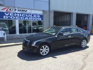 Used 2015 Cadillac ATS 2.0L Turbo AWD CUIR ET BAS KM for sale in St-Hubert, QC