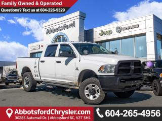 Used 2016 RAM 3500 ST *ACCIDENT FREE* *LOCALLY DRIVEN* for sale in Abbotsford, BC
