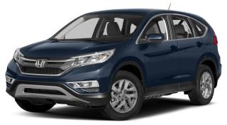 Used 2016 Honda CR-V HEATED FRONT SEATS | REARVIEW CAMERA WITH DYNAMIC GUIDELINES | BLUETOOTH for sale in Cambridge, ON