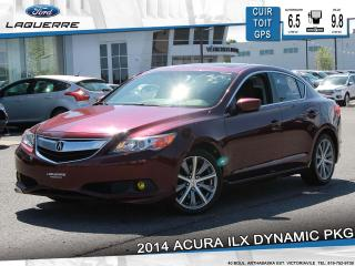 Used 2014 Acura ILX ILX DYNAMIC**CUIR*TOIT*GPS*CAMERA*BLUETOOTH*A/C** for sale in Victoriaville, QC