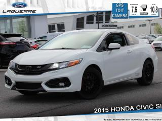 Used 2015 Honda Civic SI**6 VITESSES*TOIT*GPS*CAMERA*BLUETOOTH*A/C** for sale in Victoriaville, QC