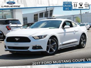 Used 2017 Ford Mustang FASTBACK V6**CAMERA*BLUETOOTH*CRUISE*A/C** for sale in Victoriaville, QC