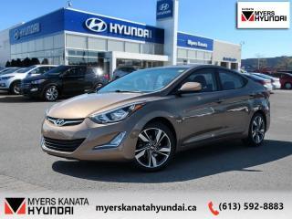 Used 2016 Hyundai Elantra GLS  - $98 B/W for sale in Ottawa, ON