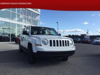 Used 2017 Jeep Patriot FWD - BAS KILO - MANUELLE - MOTEUR 2.4 L for sale in Donnacona, QC
