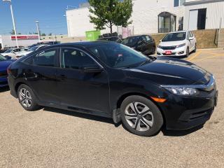 Used 2018 Honda Civic LX Reverse Assist Camera, Bluetooth and More! for sale in Waterloo, ON