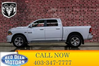 Used 2017 RAM 1500 4x4 Crew Cab Sport Leather Roof Nav for sale in Red Deer, AB