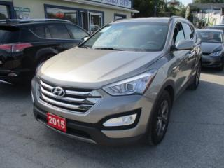 Used 2015 Hyundai Santa Fe FUEL EFFICIENT SPORT EDITION 5 PASSENGER 2.4L - DOHC.. HEATED SEATS.. BLUETOOTH SYSTEM.. 'ACTIVE-ECO' PACKAGE.. KEYLESS ENTRY.. for sale in Bradford, ON