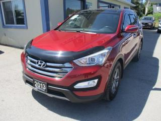 Used 2013 Hyundai Santa Fe ALL-WHEEL DRIVE SPORT EDITION 5 PASSENGER 2.4L - DOHC.. LEATHER.. HEATED SEATS.. PANORAMIC SUNROOF.. BACK-UP CAMERA.. BLUETOOTH.. for sale in Bradford, ON