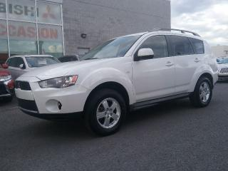 Used 2012 Mitsubishi Outlander ES | MAGS | BLUETOOTH | SIÈGES CHAUFFANTS | CRUISE for sale in St-Hubert, QC
