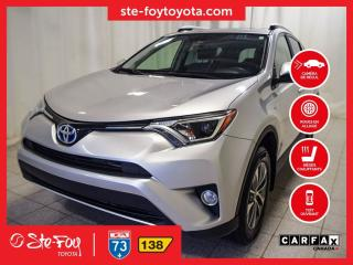Used 2016 Toyota RAV4 XLE Hybride AWD Toit ouvrant, Roue en alliage for sale in Québec, QC