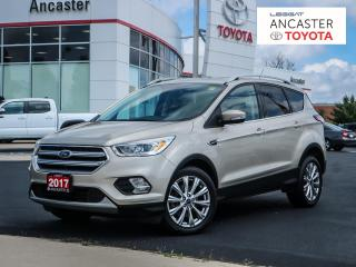 Used 2017 Ford Escape TITANIUM - NAVI|SUNROOF|LEATHER|CAMERA for sale in Ancaster, ON