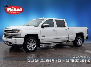 Used 2018 Chevrolet Silverado 1500 High Country $339.99 Bi-Weekly at 6.99% OAC over 96 months with $1,000 down for sale in Peterborough, ON
