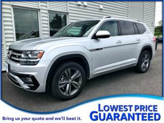 Used 2019 Volkswagen Atlas 3.6L Execline R-Line 4Motion AWD *DEMO* for sale in PORT HOPE, ON