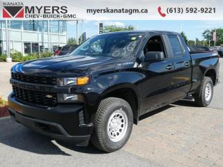 New 2019 Chevrolet Silverado 1500 Work Truck  - Leather Package for sale in Ottawa, ON