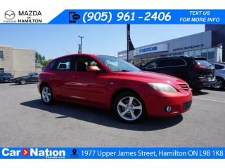 Used 2005 Mazda MAZDA3 GS | AS-TRADED | ALLOYS | BLUETOOTH for sale in Hamilton, ON