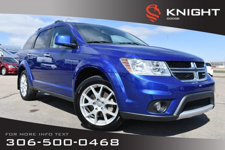 Knight Dodge Swift Current >> Used 2015 Dodge Journey R T Leather Remote Start Dvd