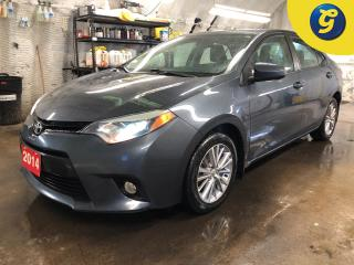 Used 2014 Toyota Corolla LE * CVT * Power sunroof * Auto projection headlights with fog lights * 16 Inch alloy rims * Keyless entry * Intermittent wipers * Heated front seats for sale in Cambridge, ON