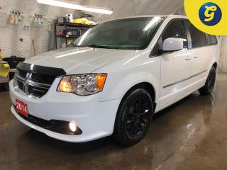 Used 2014 Dodge Grand Caravan Crew * StowN Go * A.R.T black alloy rims * Heated steering wheel * Telescopic gas and brake pedals * Tri zone climate control with rear vents * Auto d for sale in Cambridge, ON