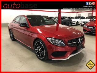 Used 2016 Mercedes-Benz C-Class C450 AMG 4MATIC PREMIUM AMG PERFORMANCE STEERING WHEEL LED 19'S for sale in Vaughan, ON