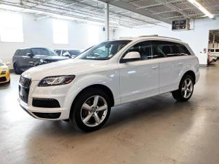 Used 2014 Audi Q7 S LINE/360 CAMERA/7 PASS/VENTILATED SEATS/ PANORAMA ROOF!! for sale in Toronto, ON
