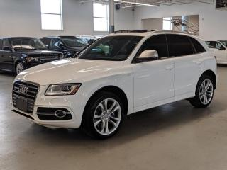 Used 2014 Audi SQ5 SQ5 TECHNIK/BANG & OULFSEN SOUND/PUSH BUTTON! for sale in Toronto, ON