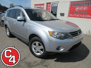 Used 2009 Mitsubishi Outlander LS V6 AWD 7 PASS MAG A/C GR ÉLECT for sale in St-Jérôme, QC