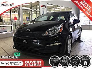 Used 2016 Kia Rio LX+ *CRUISE *AUX *USB *BLUETOOTH *A/C for sale in Québec, QC