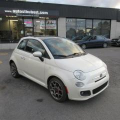 Used 2012 Fiat 500 SPORT **CUIR + TOIT OUVRANT** for sale in St-Hubert, QC