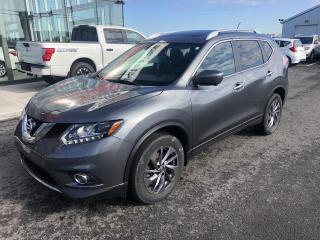 Used 2016 Nissan Rogue SL, AWD, CUIR, GPS, 1.9% for sale in Lévis, QC