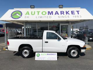 Used 2002 Dodge Dakota Sport 2WD FREE BCAA & WRNTY! YOU WORK/YOU DRIVE! FINANCING FOR ALL CREDIT! for sale in Langley, BC