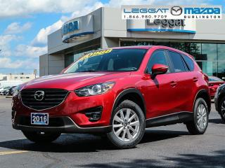 Used 2016 Mazda CX-5 GS - BLUETOOTH, MOONROOF, HEATED SEATS, REAR CAMERA for sale in Burlington, ON