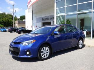 Used 2015 Toyota Corolla S - CVT - Caméra de recul - Bluetooth - for sale in Trois-Rivières, QC